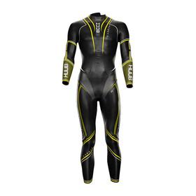 HUUB Varman Fluo Wetsuit Limited Edition + T2 Bag Men, czarny/żółty